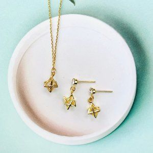14K Gold Jewelry Set By.MellowMee